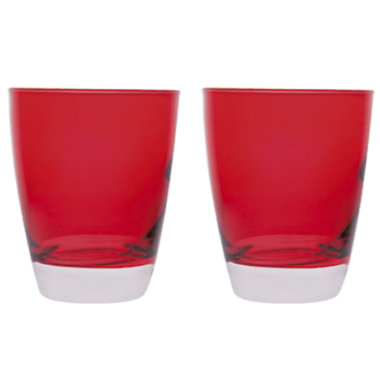 Bicchieri Happy Rosso