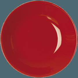 Piatto fondo Rosso Trendy