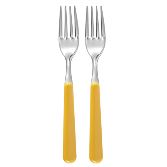 Forchette Trendy giallo