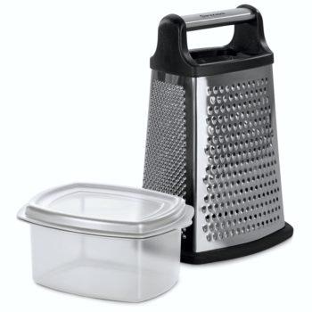 barazzoni my utensil grattugia 4 lati con contenitore