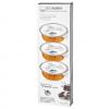 Set 3 vaschette gel infiammabile HH LIFESTYLE confezione