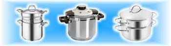 Cottura pasta, pressione e vapore
